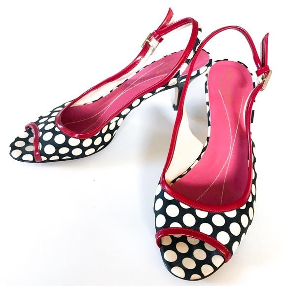f14bd7c8419 Kate Spade ♠️ Polka Dot Heels
